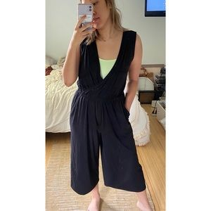 Time and Tru cropped jumpsuit